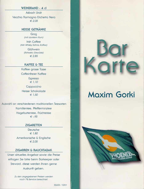 Barkarte Ts Maxim Gorkiy
